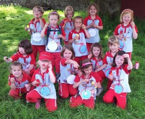 Rainbows Girl Guiding