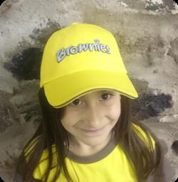 Brownie baseball cap