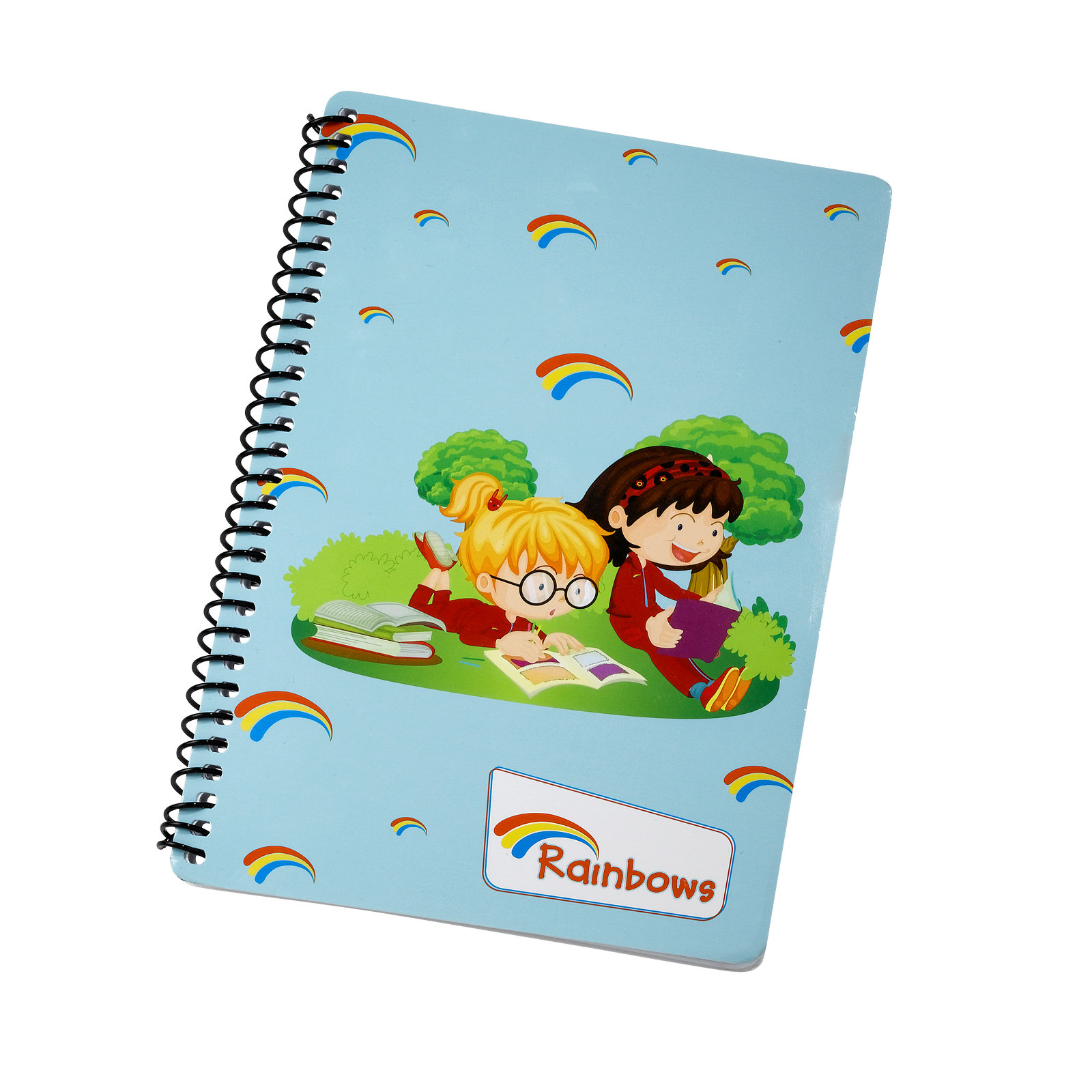 rainbow notepad A5