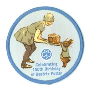girl guide beatrix potter badge