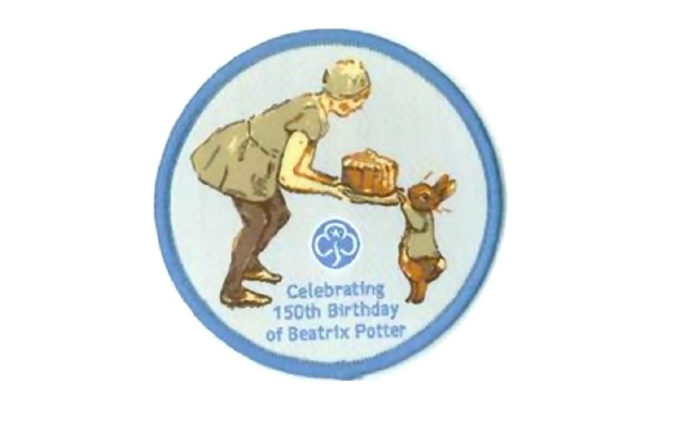 Beatrix Potter Badge