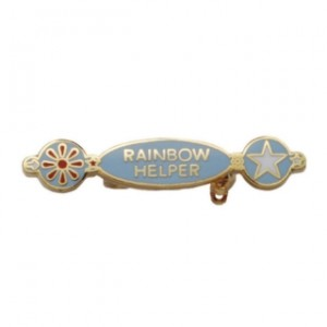 rainbow helper badge
