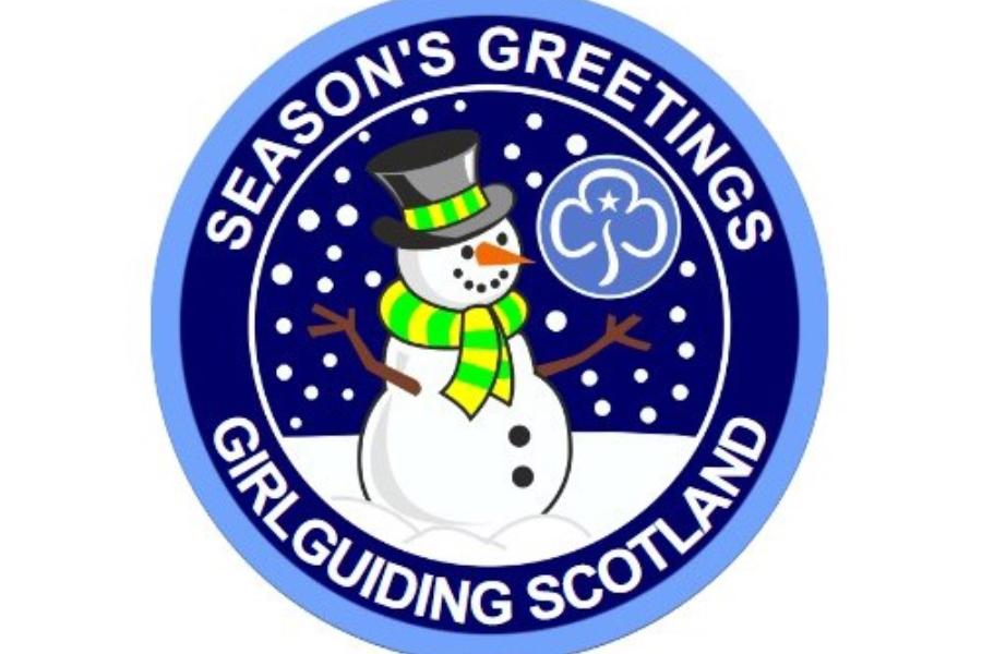 girlguide Christmas Badge