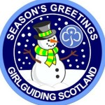 girlguide Scotland Christmas Badge