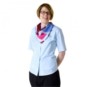 Girlguide leader short sleeved formal blouse
