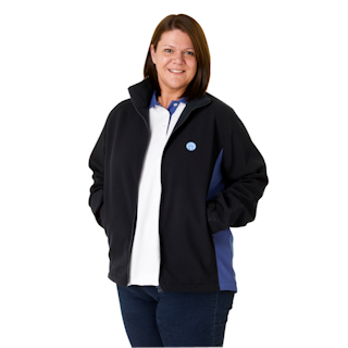 girlguide leader soft shell jacket