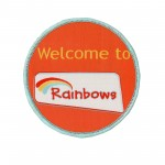 welcome to rainbows badge