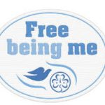 free being me badge