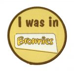 i was in brownies badge