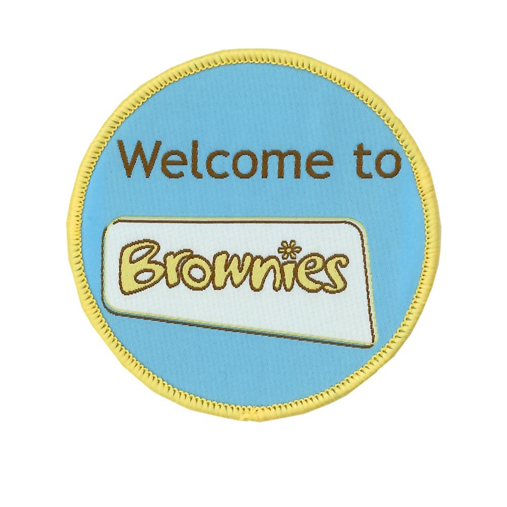 welcome to brownies badge